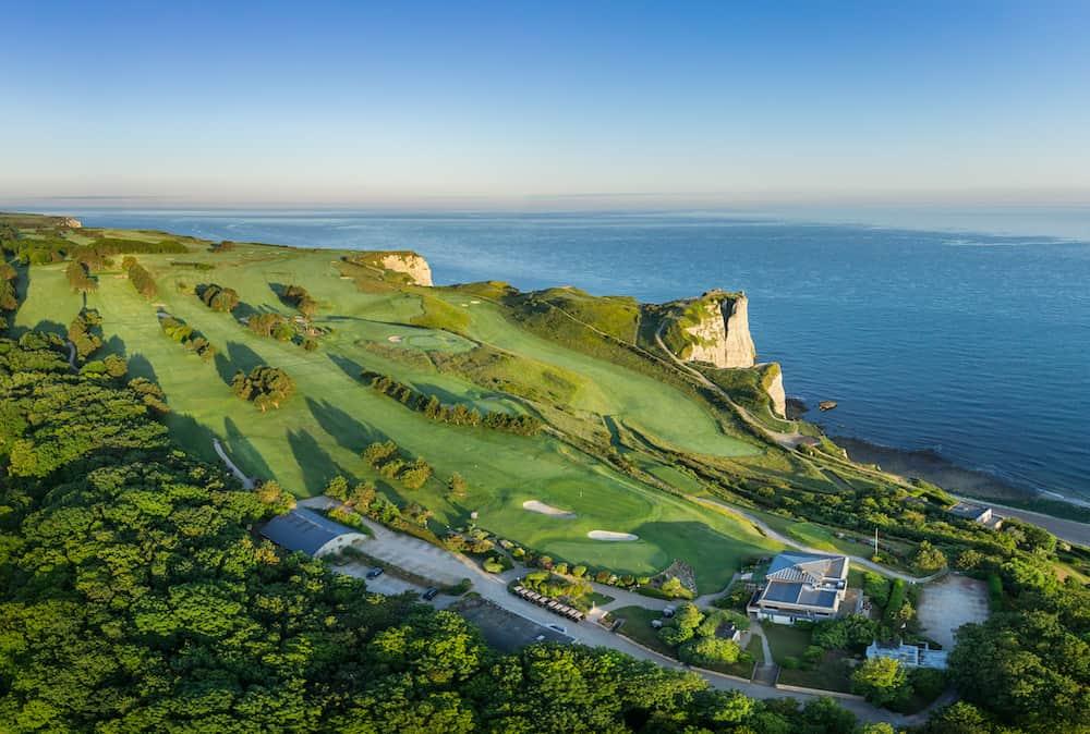 Golf Etretat - vue club-hosue et parcours
