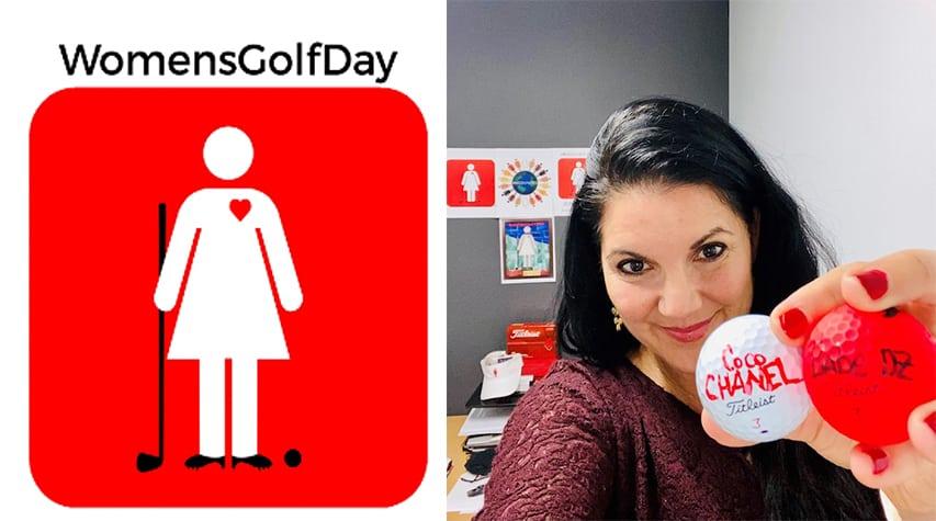 Elisa Gaudet - Women's Golf Day