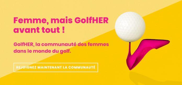 Bannière site web GolfHER